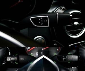 ベンツ W176 CLA GLA GLK GLE W212W218 CLS ML GL ステアリング トリム カバー AMG 純正車へ 内装 カスタム パーツ 汎用