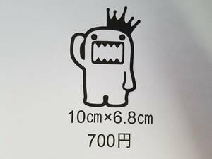 送料無料 どーもくん ④ NHK Eテレ 車 バイク フロント リア 窓 USDM JDM ヘラフラ カッティング ステッカー