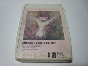 【8トラックテープ】 EMERSON, LAKE & PALMER / EMERSON, LAKE & PALMER UK版 エマーソン・レイク&パーマーの商品画像