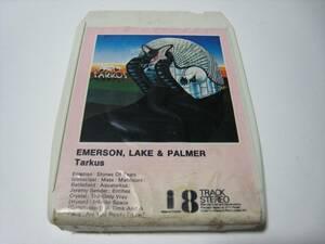 【8トラックテープ】 EMERSON, LAKE & PALMER / TARKUS UK版 エマーソン・レイク&パーマー タルカスの商品画像