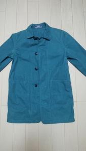 GOODENOUGH IVY(グッドイナフ アイビー) ワークコート カラー:ブルー系 表示サイズ:なし 藤原ヒロシ