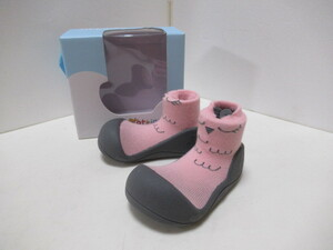 new goods *Attipas [ati Pas ] baby shoes 13.5cm pink baby shoes