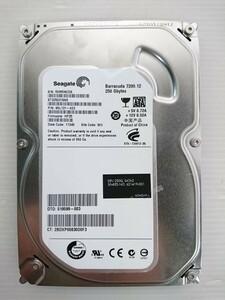 ★ジャンク品★SEAGATE(シーゲイト) ハードディスク HDD ST3250318AS /250GB /SATA300 /7200 rpm/3.5インチ ★★