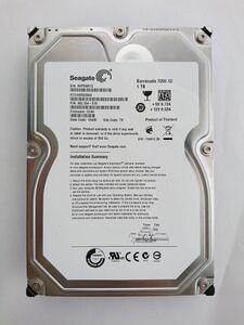 ★ジャンク品★SEAGATE(シーゲイト) ハードディスク HDD ST31000528AS /1TB /SATA300 /7200 rpm/3.5インチ ★