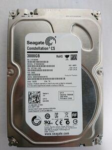 ジャンク品★SEAGATE ハードディスク HDD ST3000NC002 /3TB /SATA600 /7200 rpm/3.5インチ★
