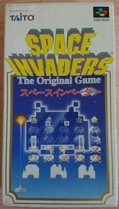 【箱、説明書あり】スペース インベーダー スーパーファミコン用ソフト space invaders sfc 当時物 昭和 懐かしい 平成 青春 レトロゲーム