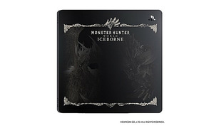 ※トップカバーのみ 送料無料 PS4 モンスターハンター : ワールド アイスボーン 限定デザイン モンハンワールド モンハン ワールド