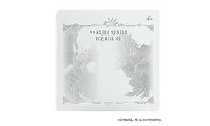※トップカバーのみ 白 送料無料 PS4 モンスターハンター : ワールド アイスボーン 限定デザイン モンハンワールド モンハン ワールド