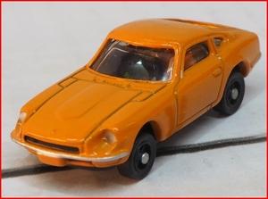 ローソン限定60s-90s国産名車コレクション【日産フェアレディZ432橙オレンジ】おまけダイキャスト製ミニカー【中古】送料込