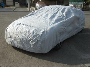OPベルト付き!車を大切にするあなたへ…通気性抜群のキズの付きにくい5層構造COVERITE社製ボディカバー/R35GT-R用(PS-11)未使用品!