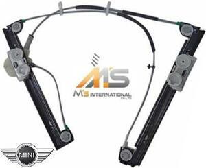【M's】R50 R52 R53 BMW ミニ(-05y)純正OEM パワーウインドーレギュレター (左側)//MINI 社外品 ウインドーレギュレーター 5133-7039-451