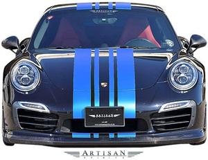 【M's】PORSCHE 911 991 TURBO/TURBO-S (前期) ARTISAN SPIRITS フロントリップスポイラー//カーボン エアロ アーティシャンスピリッツ