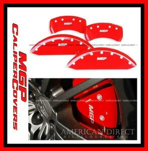 [MGP]11y- Dodge Charger Challenger red caliper cover brake wheel 12162