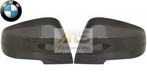 【M's】F22 F23 F87 2シリーズ/F20 F21 1シリーズ 純正品 Mパフォーマンス ミラーカバー左右 (カーボン) BMW 正規品 5116-2211-904