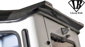 【M's】W463 AMG G63 (2012y-) Liberty Walk LB-WORKS リアウイング//CFRP製 カーボン エアロ リバティーウォーク メルセデス Gクラス