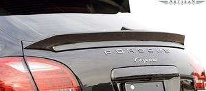 【M's】958 PORSCHE CAYENNE V6用 (2010.3-) ARTISAN SPIRITS リヤ ゲートスポイラー//FRP エアロ シンプル アーティシャンスピリッツ