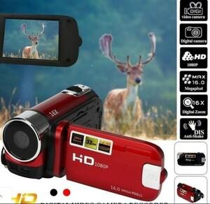 デジタルビデオカメラビデオカメラフルHD 1080P 16MP 16XデジタルズームDV
