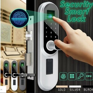 ユニバーサルデジタルスマートドアロック パスワード指紋盗難防止保護