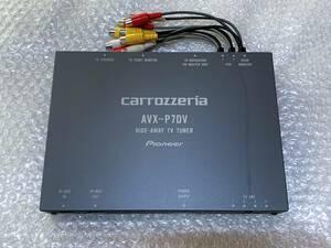 carrozzeria カロッツェリア AVX-P7DV ハイダウェイ ユニット インダッシュ モニター DVD ビデオ CD プレーヤー AV オーディオ ナビ H9 等