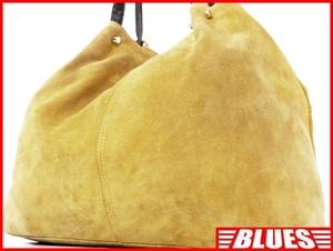 即決★nano universe★オールレザートートバッグ ナノユニバース メンズ 黄 茶 本革 ハンドバッグ 本皮 かばん 通勤 トラベル 出張 カバン