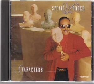 Stevie Wonder - Characters /AOR/R32M-1055/国内盤CD
