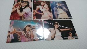 AKB48 チーム8 坂口渚沙 2019.5.31 湯浅順司「その雫は、未来へと繋がる虹になる。」 谷川聖 卒業公演 生写真 5種コンプ