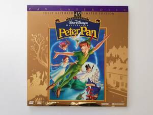 LD 輸入盤 PeterPan ピーターパン Disney ディズニー レーザーディスク