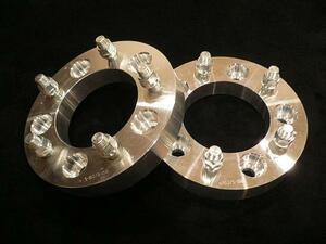 ◆スペーサー 5穴 PCD110 厚さ31.8mm 2枚 M12ピッチ1.5    管理:511032MM35MM30MM ワイドトレッドスペーサー
