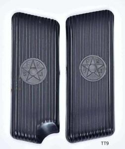 オリジナル トカレフ グリッププレート/ユーゴスラビア サツタバ Mod.57/SFRJユーゴロゴあり/ブラック