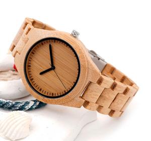 BOBO BIRD 木製 腕時計 男性 メンズ クォーツ 木の温もり 竹 S028