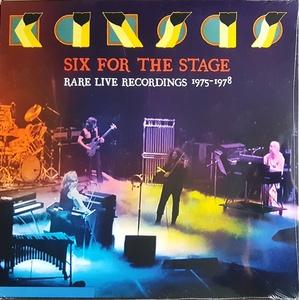 Kansas カンサス - Six for the Stage - Rare Live Recordings 1975-1978 限定二枚組アナログ・レコード