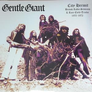 Gentle Giant ジェントル・ジャイアント - City Hermit - British Radio Sessions & Rare Early Tracks 1970-1972 限定アナログ・レコード