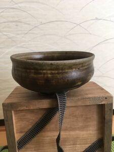 李朝 黒高麗茶碗