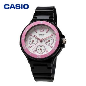 CASIO カシオ LRW-250H-1A3 アナログ 曜日 日付 カレンダー チープカシオ レディース ガールズ キッズ 女性用腕時計 ダイバー 防水 軽量