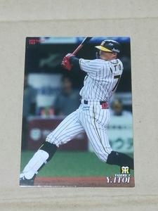 カルビー プロ野球チップス プロ野球カード2019 No.142 阪神タイガース 糸井嘉男