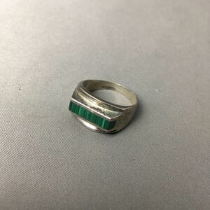 K184 серебряный аксессуары кольцо Mexico 925 натуральный камень Vintage