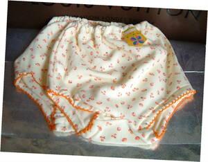 ◆ 1970年代 昭和レトロ 幼児 パンツ ショーツ 3才 ピーコロン 旭化成 ナイロン 2枚 未使用 イチゴ さくらんぼ 子供 資料