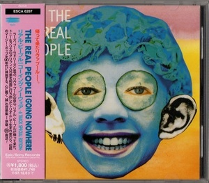 The Real People / Going Nowhere (日本盤CD) リアル・ピープル