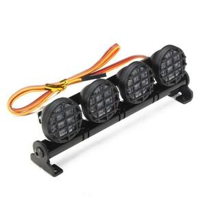 CC01 / D90 / SCX10 / 4WD RCカーパーツ用AUSTAR LEDライトアルミ合金フレーム S9976648