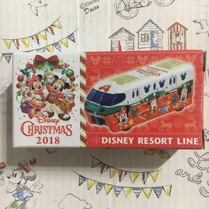 TDR Disney Christmas 2018 リゾートライン RESORT LINE クリスマス ディズニー トミカ Mickey Minnie ミッキー ミニー グーフィ