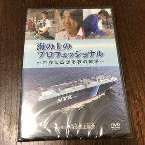 DVD 海の上のプロフェッショナル 世界に広がる夢の職場 レア 非売品 おまけ付き