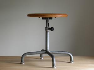 Embru-Werke in dust real stool / 1934 year Switzerland design industry series garden chair side table bauhaus bow house