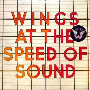 ■LPch■WINGS ポール・マッカートニー/SPEED OF SOUND■希少ステッカー付■USオリジ|SW11525■