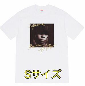 【新品】Sサイズ Supreme Mary J. Blige Tee white ホワイト 白 19aw 19aw メアリー シュプリーム Tシャツ small 国内正規品 フォトT 即納