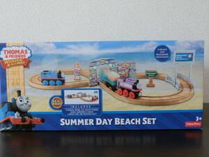 【中古美品】夏のビーチセット Summer Day Beach Set ☆ きかんしゃトーマス ☆ 木製レール