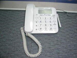 ☆Panasonic☆デジタルコードレス留守番電話機 親機 動作確認済み DD