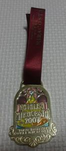 非売品 ディズニー シー ホテル ミラコスタ ワインメダル 2007 クリスマス レア リボンに汚れ