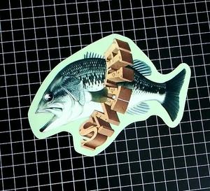 Smith ブラックバス スミス ステッカー オールド ビンテージ  Bass Sticker