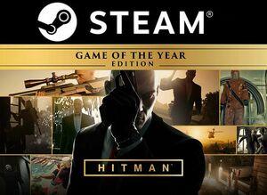 即日対応!【PC/STEAM版】HITMAN ヒットマン Game of The Year Edition 完全版 日本語対応