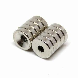 «A2E-A2» Мощный магнит Neodyium 10 × 3 мм 10 шт / неодим Круглого Блюда Отверстия Отверстия для винта Магнит Резюме Покупки
